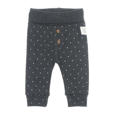 Feetje Pantaloni AOP Mini Person antracite-melange