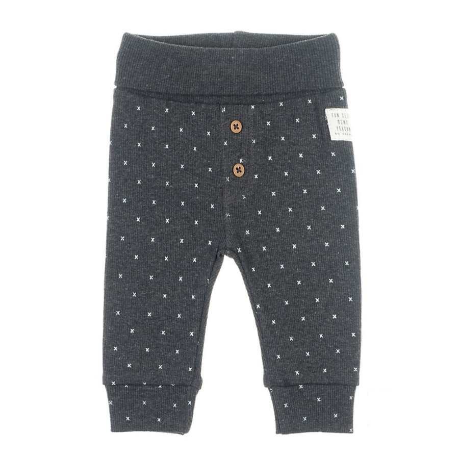 Feetje Pantalon AOP Mini Person anthracite-melange