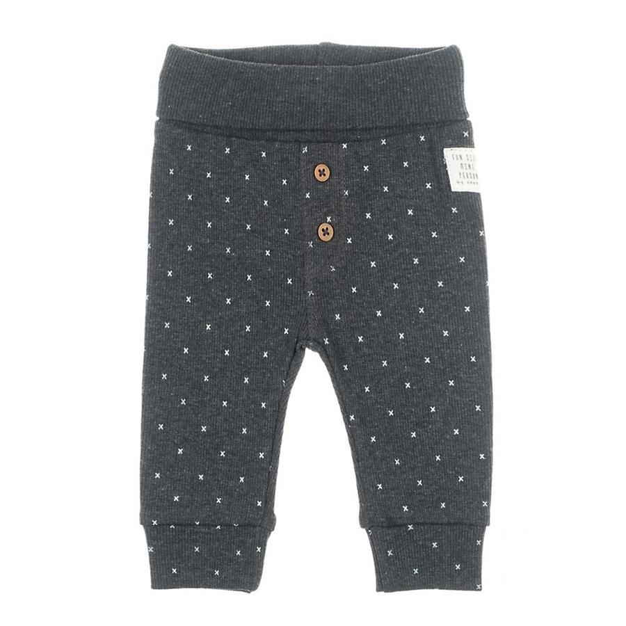 Feetje Pantalones AOP Mini Person antracita-melange