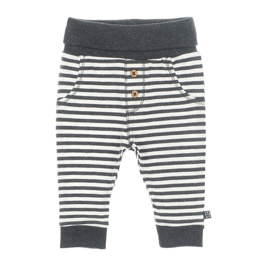 Feetje Spodnie w paski mini-osoba antracytowo-melanżowe