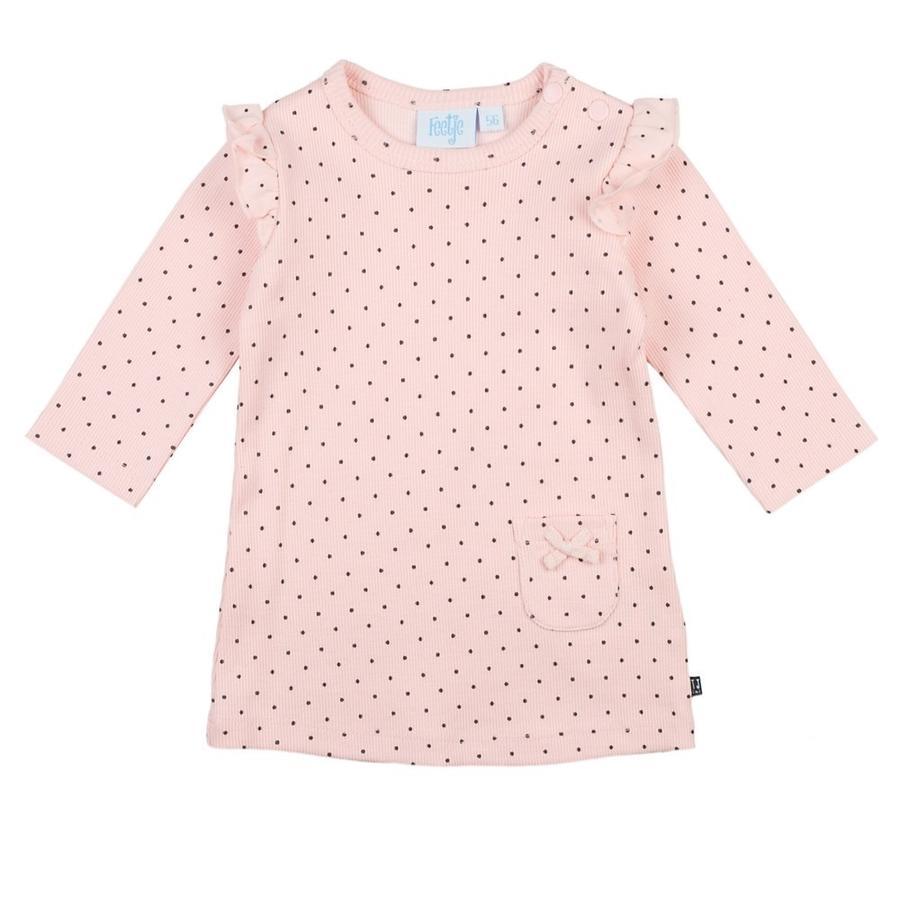 Feetje Dress Dots pink