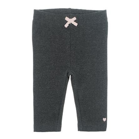 Kalhoty Feetje Dots antracitové melanže