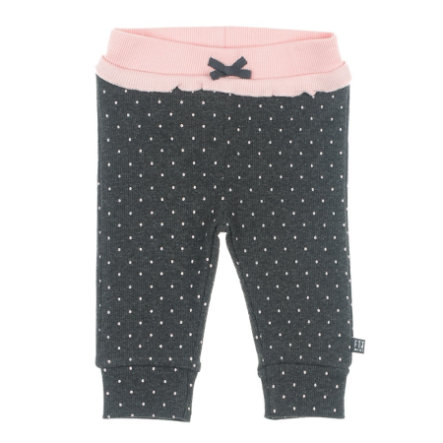 Feetje Kalhoty AOP Dots anthracite-melange