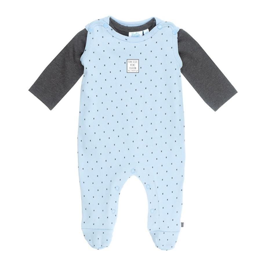 Feetje romper dress 2-delt mini person blå