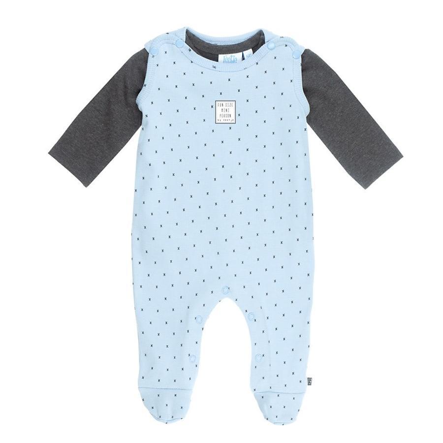 Feetje romper suit 2-piece mini person blue