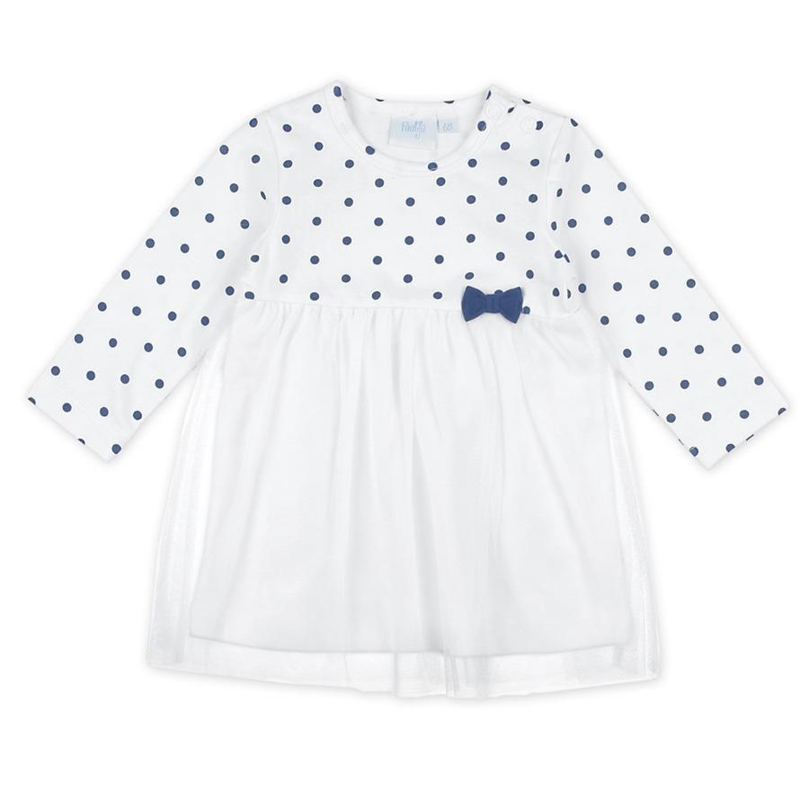 Feetje Dívčí šaty body / tylová bílá