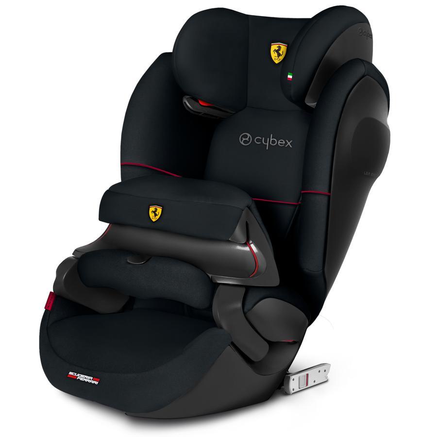 cybex SILVER Silla de coche Pallas M-Fix SL Scuderia Ferrari Victory Negro