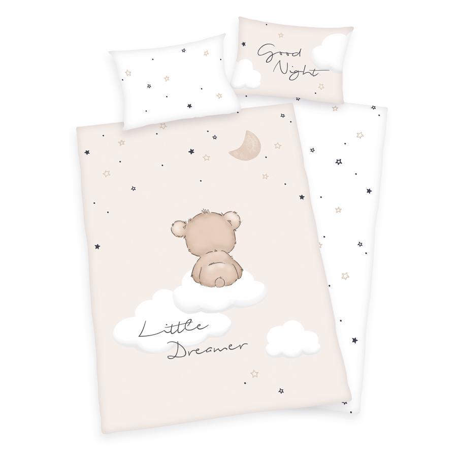 HERDING Pościel dziecięca Little Dreamer GOTS 100x135 cm