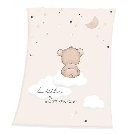 HERDING Couverture bébé Little Dreamer polaire 75x100 cm