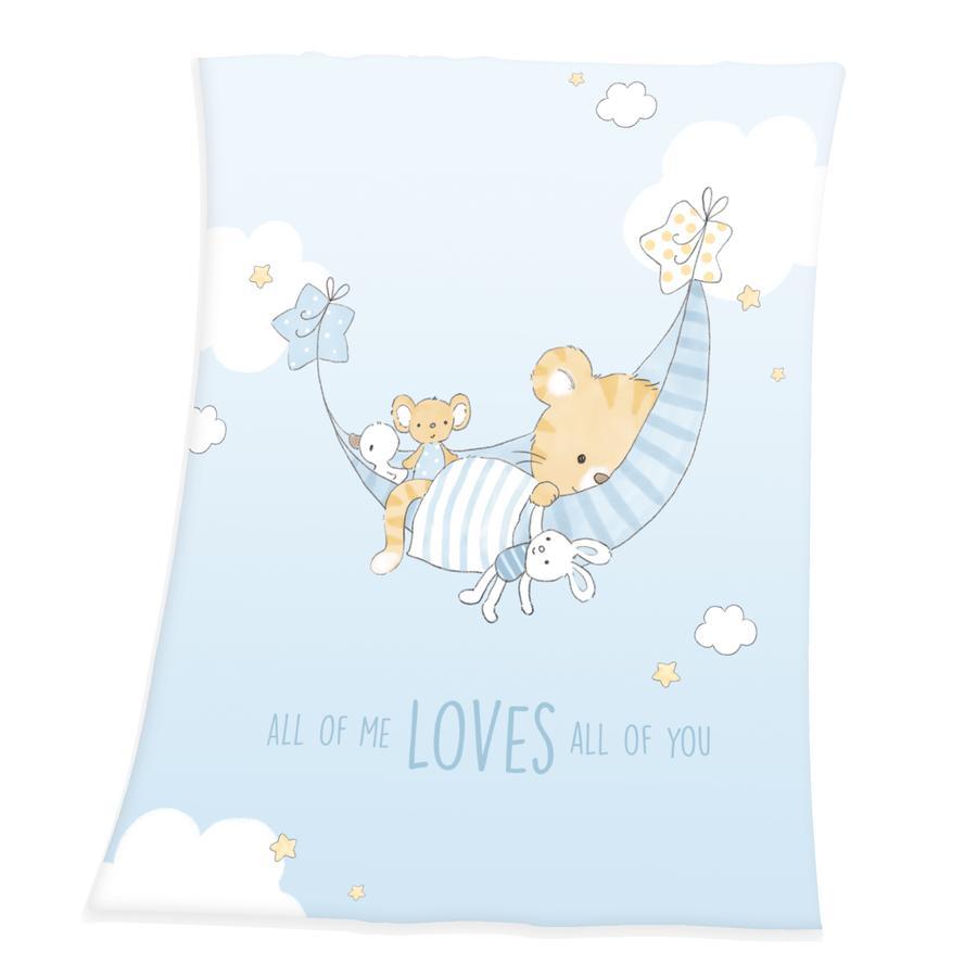 babybest® Soft-Peach-Decke  Little Tiger