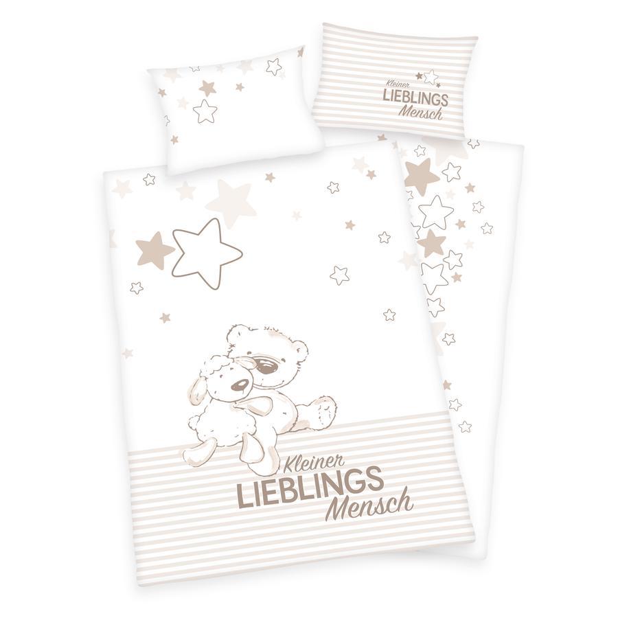 babybest® Bettwäsche Kleiner Lieblingsmensch 100x135 cm