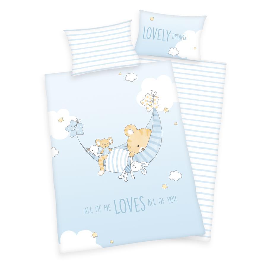 babybest® Bettwäsche Little Tiger GOTS 100x135 cm