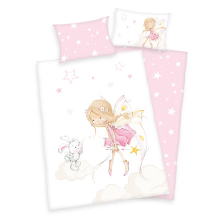 babybest® Bettwäsche Little Fairy GOTS 100x135 cm
