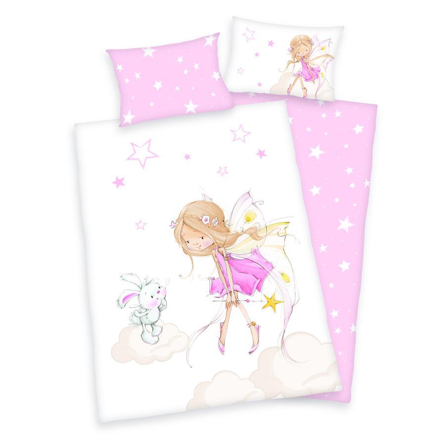 HERDING Sängkläder Little Fairy GOTS 100x135 cm