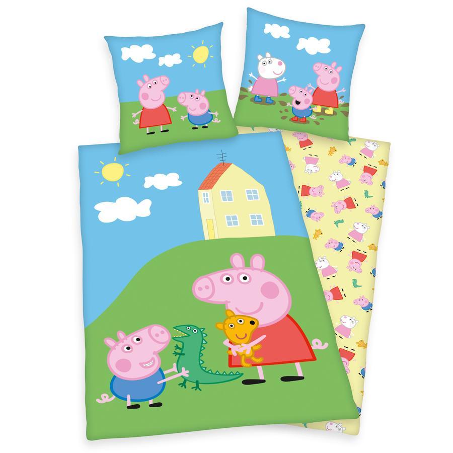 HERDING Parure de lit enfant Peppa Pig 135x200 cm