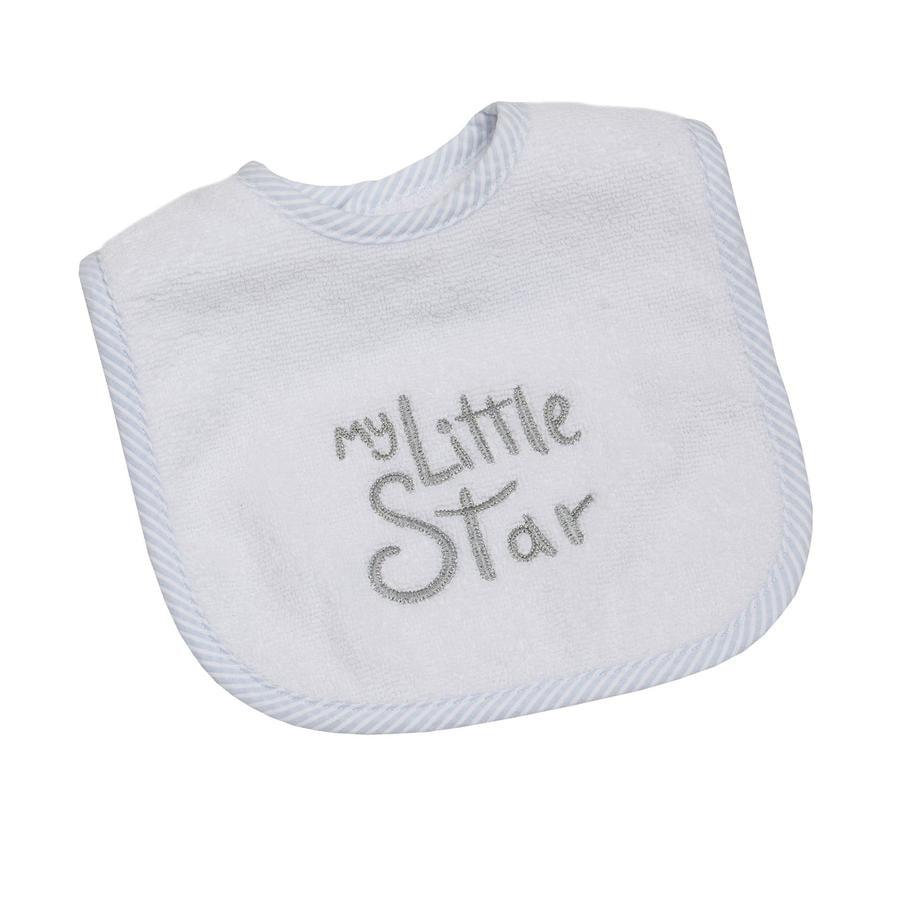 BeBes Collection Bavoir à scratch enfant My little Star bleu