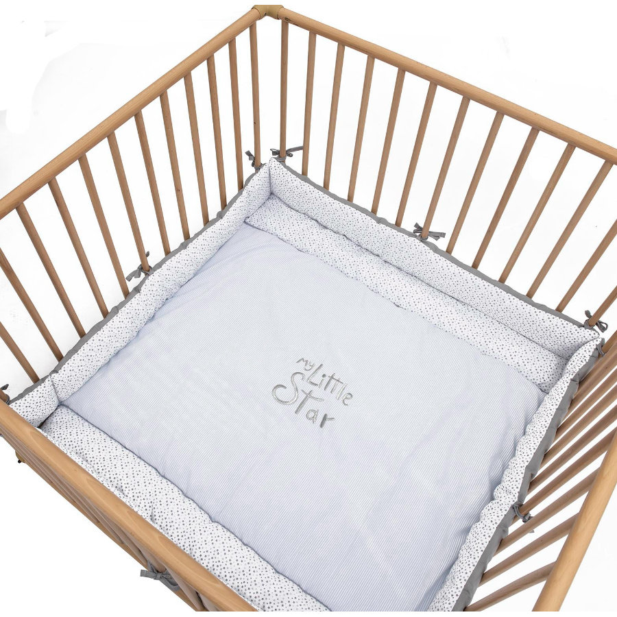Be Be's Collection playpen insert My Little Star blue