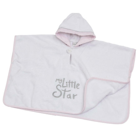 Be Be's Collection Hooded Swim Pond My Little Star pink