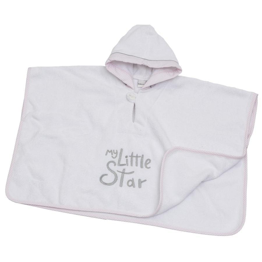 Be 's Collezione Be 's Hooded Swim Pond My little Star rosa con cappuccio