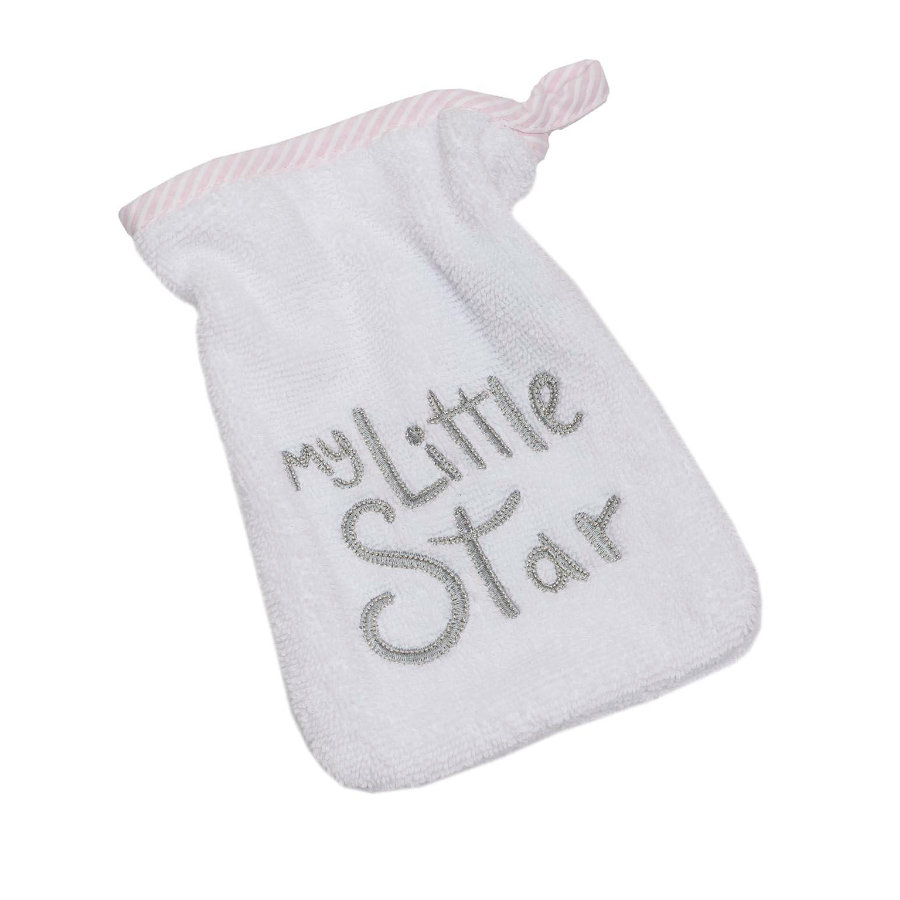 Be 's Collection Be 's lavaggio guanto di lavaggio My little Star rosa