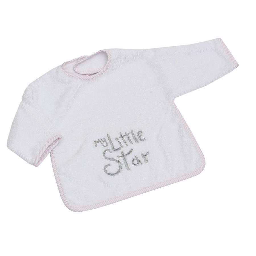 Be Be 's Collection Ärmellätzchen mit Klett My little Star rosa