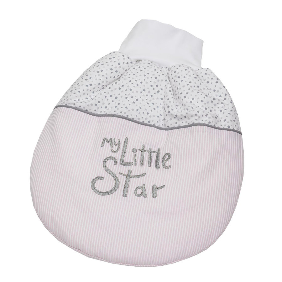 Be Be 's Collection Strampelsäckchen wattiert My little Star rosa
