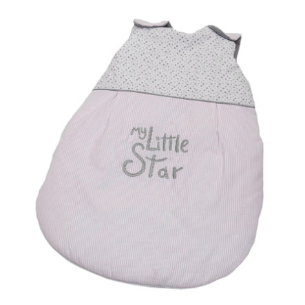 BeBes Collection Gigoteuse bébé été My little Star rose