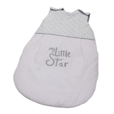 Saco de dormir de verano de la Colección Be Be Mi little estrella rosa