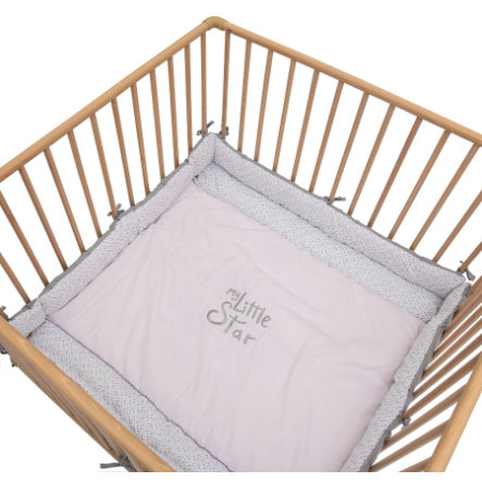 Be Be's Collection playpen insert My Little Star pink