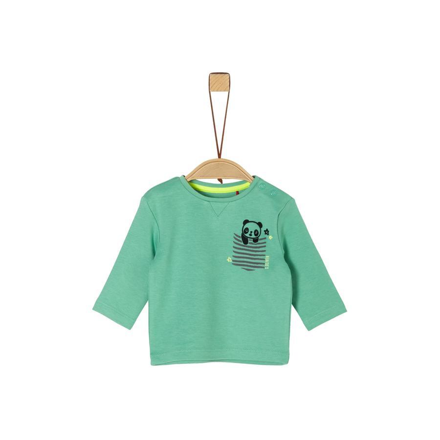 s. Olive r Koszula z długim rękawem green