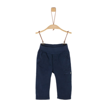 s. Olive r Pantaloni blu scuro