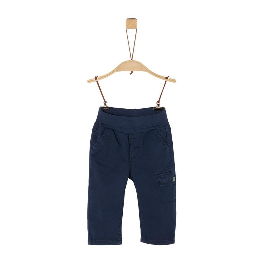 s. Olive r Pantalon bleu foncé