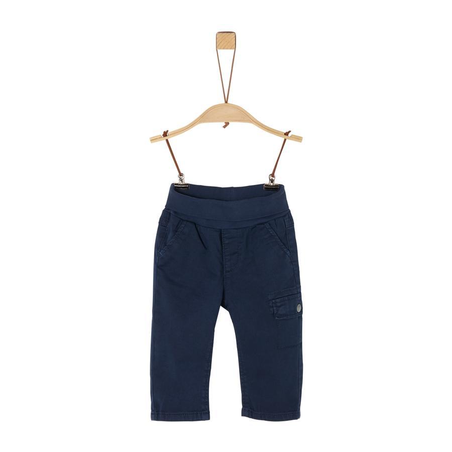 s. Olive r Pantalones azul oscuro
