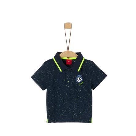 s. Olive r Poloshirt marinemelange