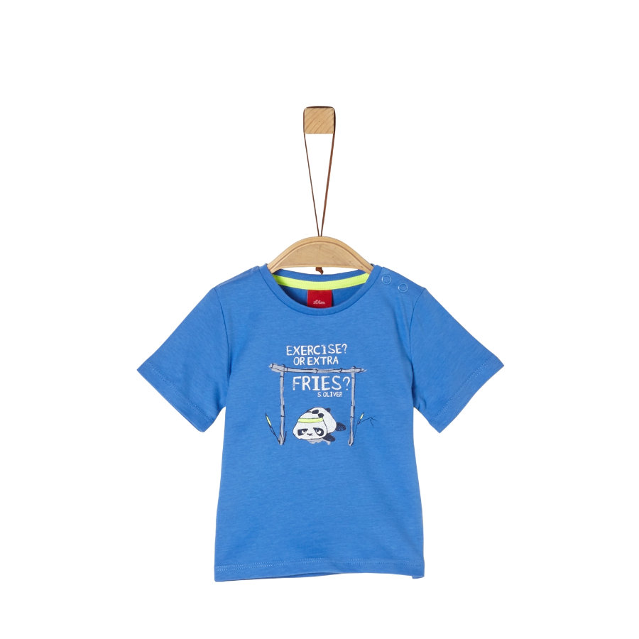 s. Olive r tričko modré