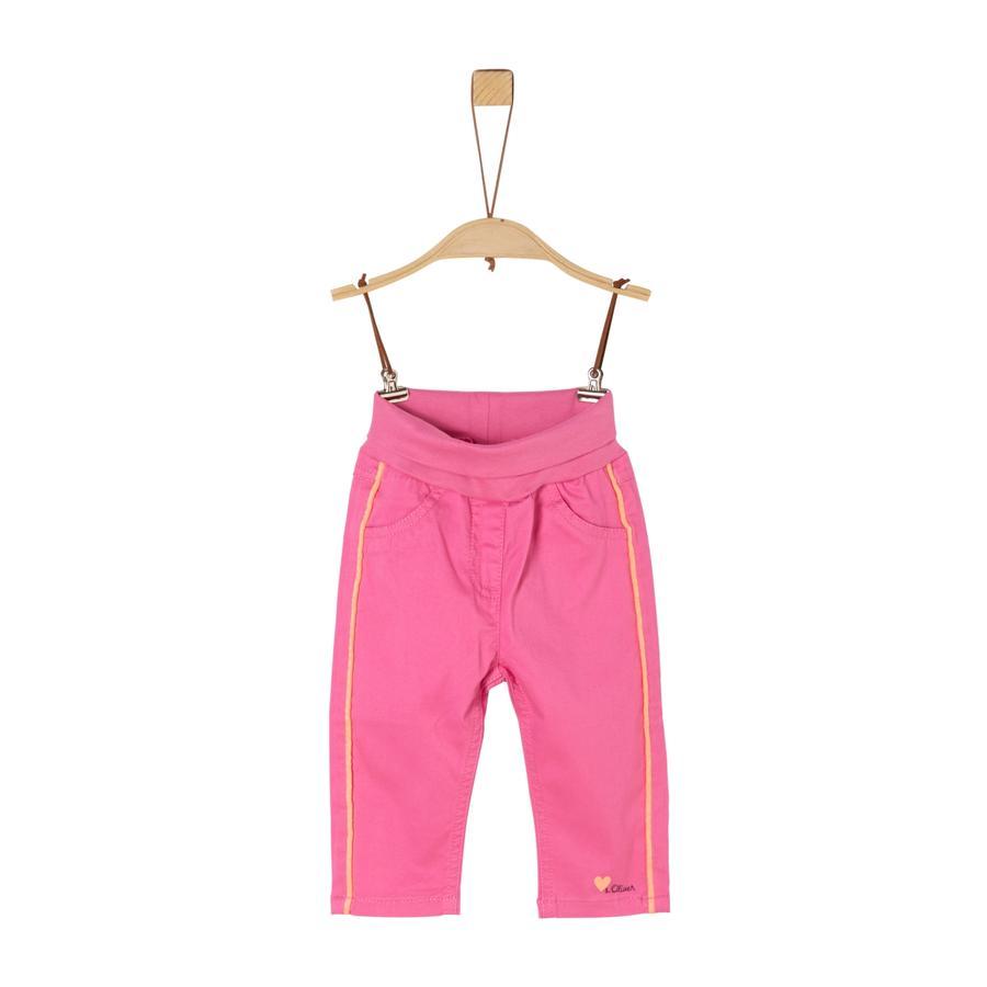 s. Oliv rosa byxor