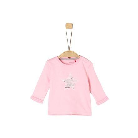 s. Olive r Chemise à manches longues rose