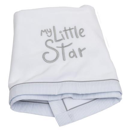 Coperta in pile della collezione Be 's My little Star blu