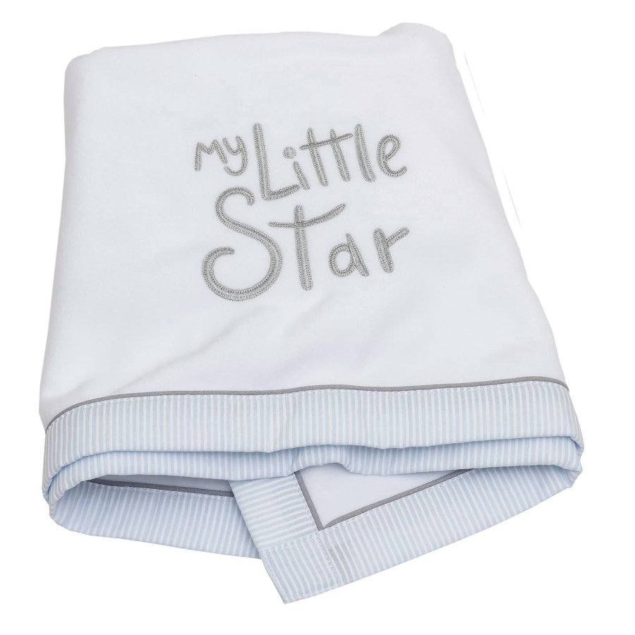 Be 's Collection Fleece Teppe My little Star blue
