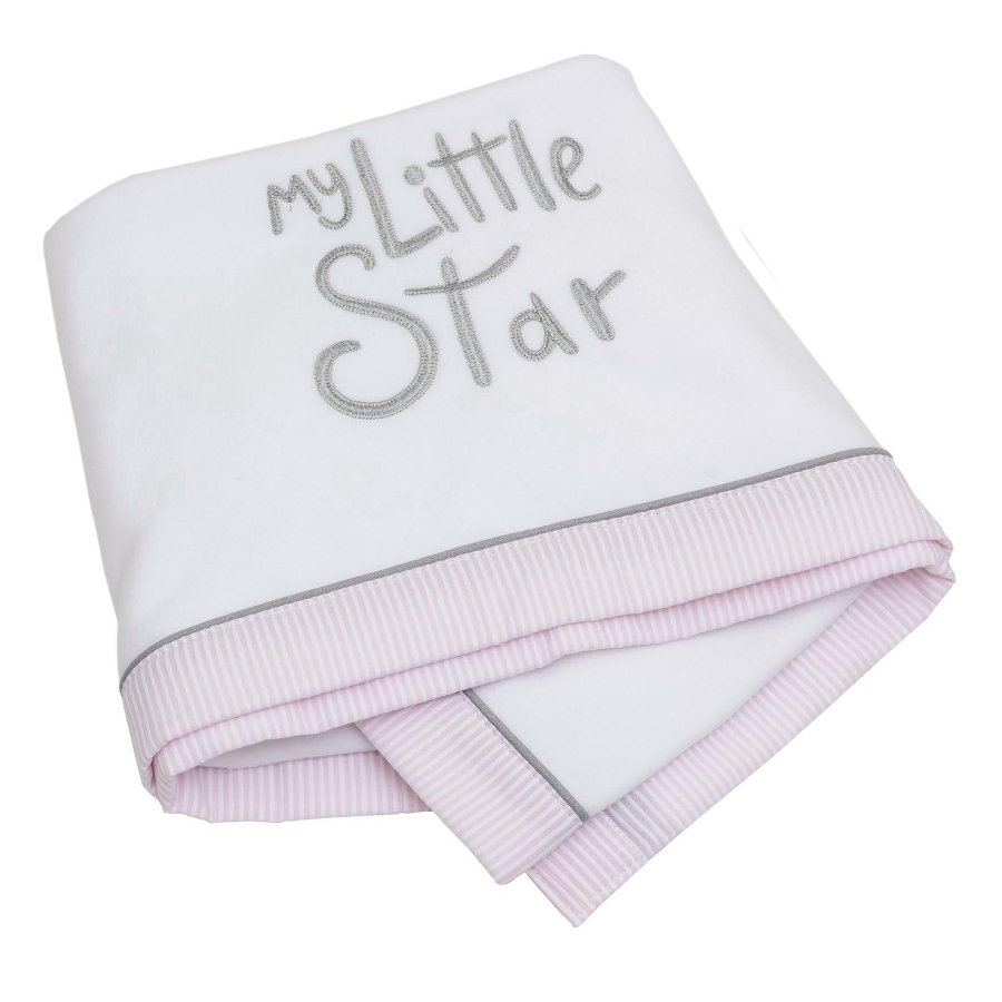 Be Be's Collection Fleece deka My Little Star pink