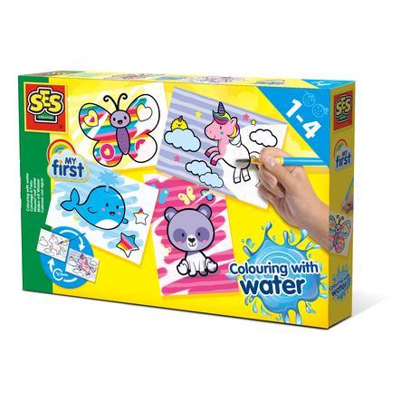 SES Creative® My first Malen mit Wasser Fantasietiere