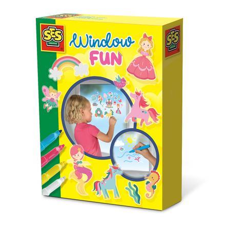 SES Creative® Fensterbilder Prinzessinnen Welt