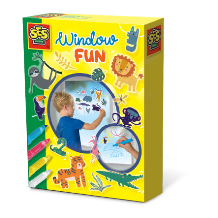 SES Creative® Fensterbilder Jungle