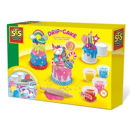 Odkapávací koláč SES Creativ e® vyrobený z plastelíny
