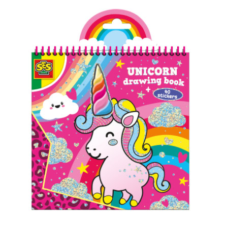 SES Creativ e® Libro para colorear de Unicornio