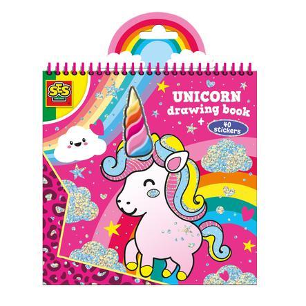 SES Creativ e® Livre de coloriage de la licorne