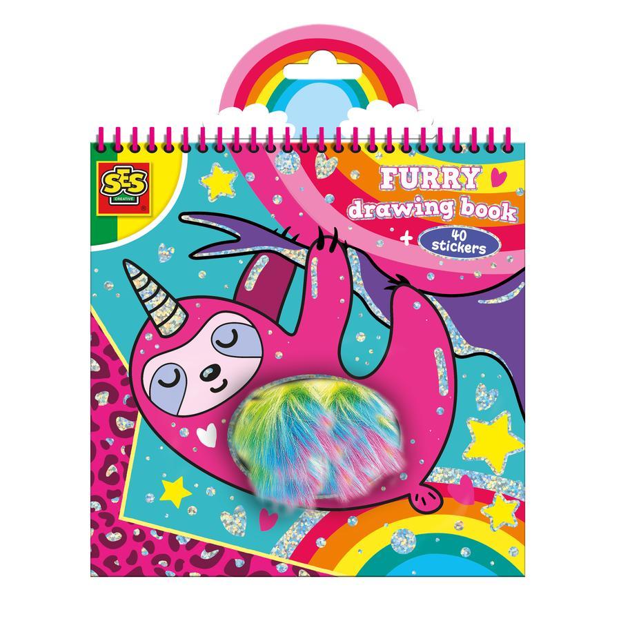 SES Creativ e® libro de colorear de felpa