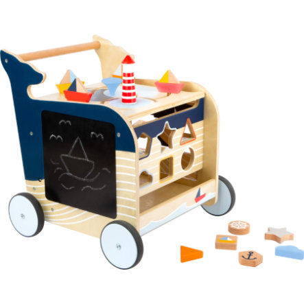 small foot® Lauflernwagen Wal