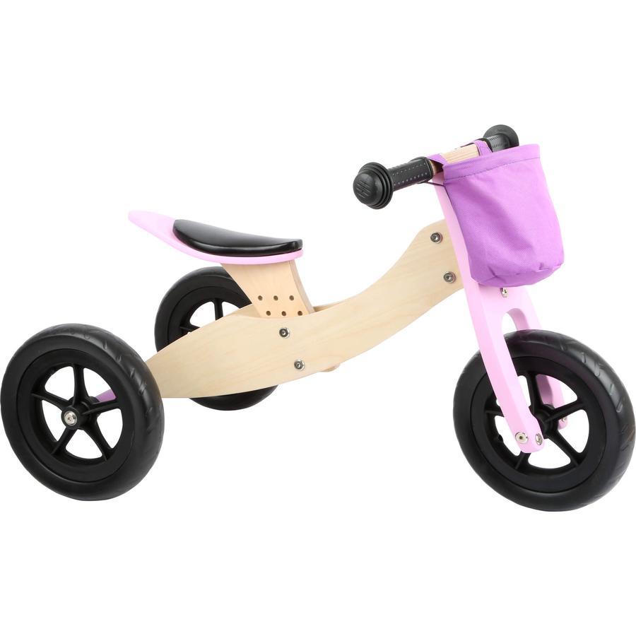 small foot® Laufrad-Trike Maxi 2 in 1 Rosa