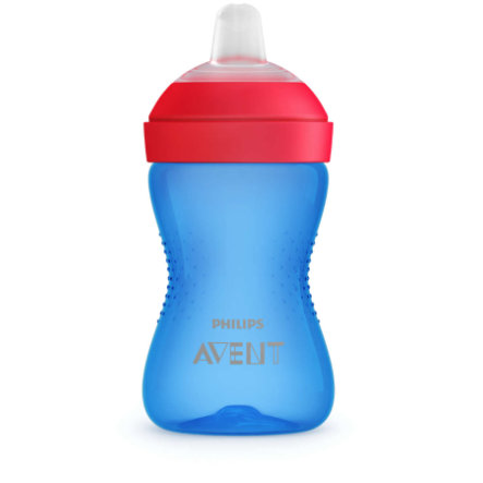 Philips Avent nebbkopp SCF802 / 01 300 ml blå / rød fra 9. måned